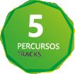5 Percursos